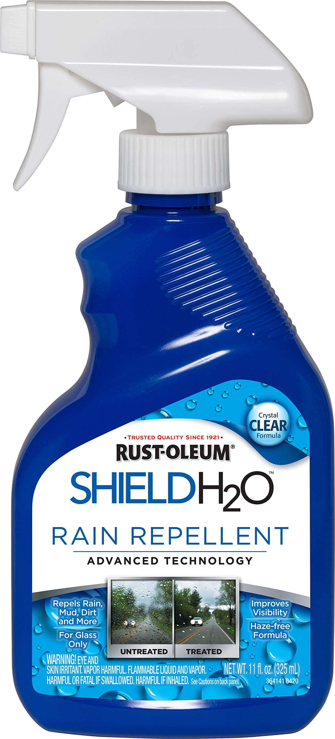 Rust-Oleum Shield H2O Rain Repellent Spray, 11 oz, Clear