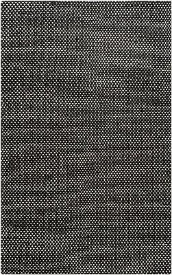 Rizzy Home Black Rug in Jute/Wool 8'x10'