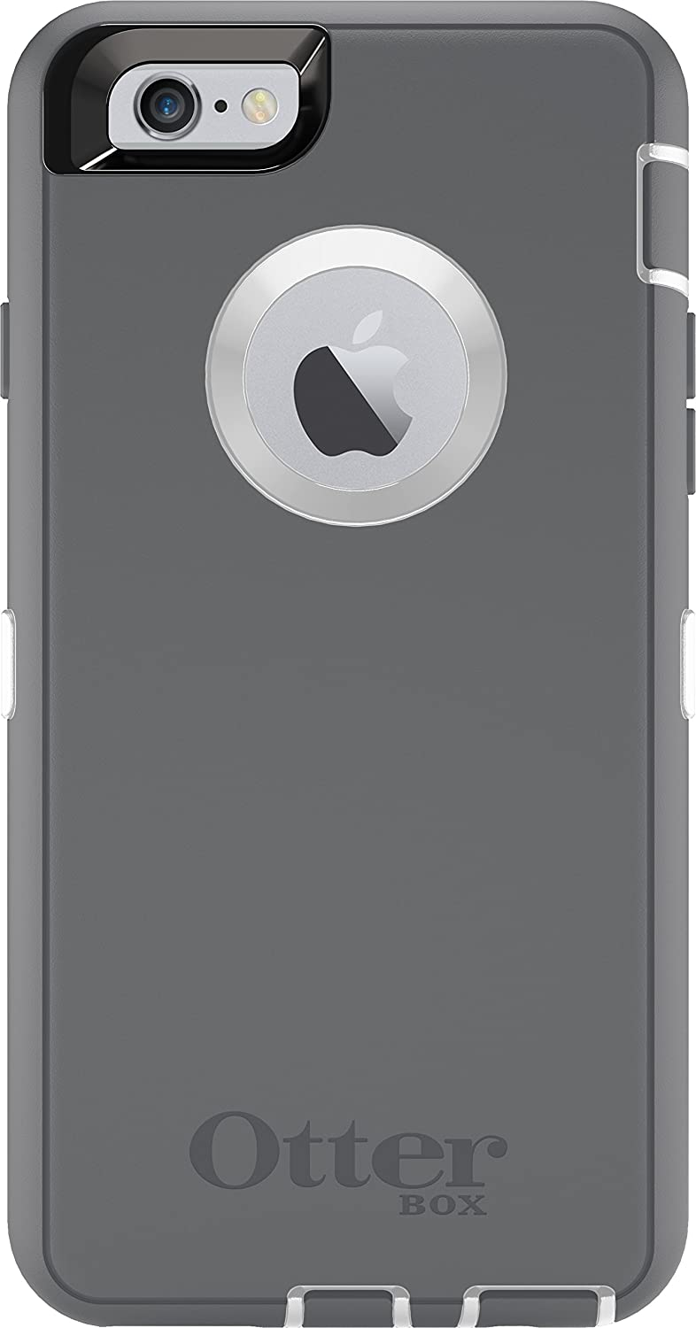 OtterBox Defender Series Case for iPhone 6 Plus - Frustration Free Packaging - Glacier (Discontinued by Manufacturer) 77-50733