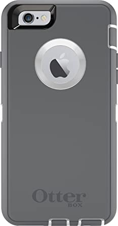 iphone 6 plus white. otterbox defender series iphone 6 plus only case (5.5\u0026quot; version), retail packaging iphone white p