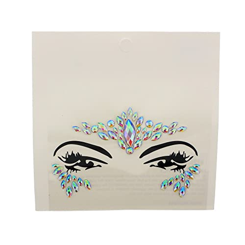 Zac's Alter Ego Crystal Stone Face Gems/Jewels - Festival Body Art