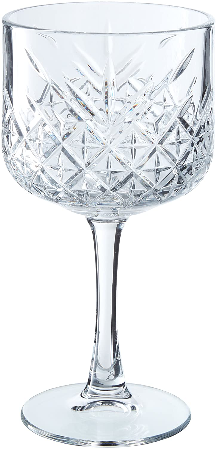 Pasabahce Timeless Pack of 4Wine Glasses Gin & Tonic CL 55, 4Units 02598