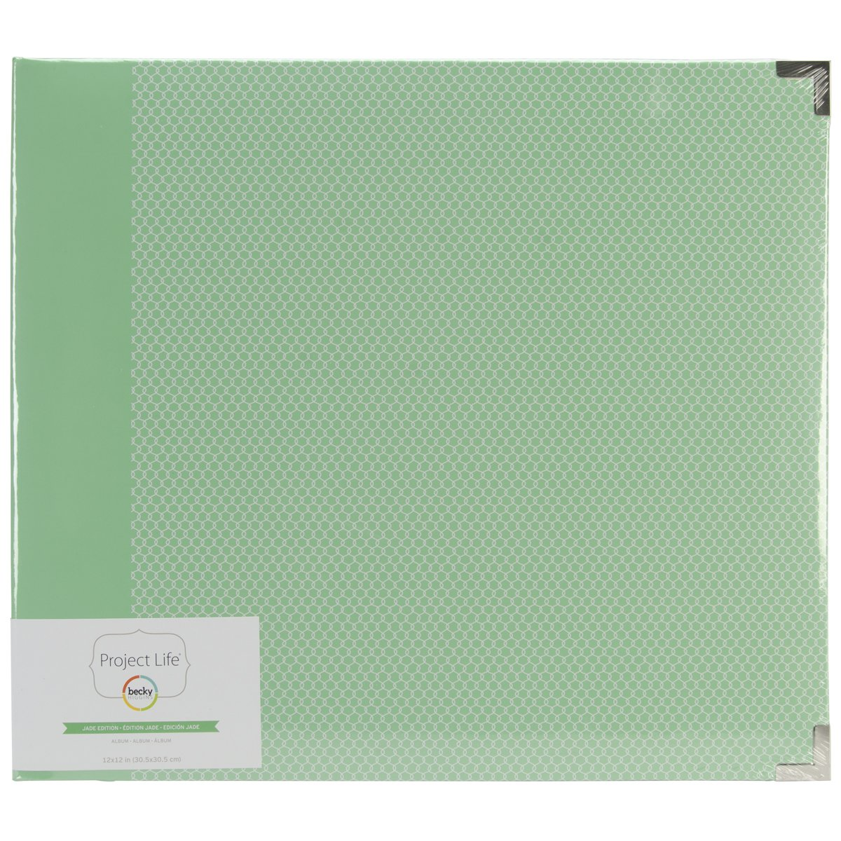 American Crafts Project Life D-Ring Album, Multi-Colour, 38.1 x 33.65 x 6.98 cm PL380053