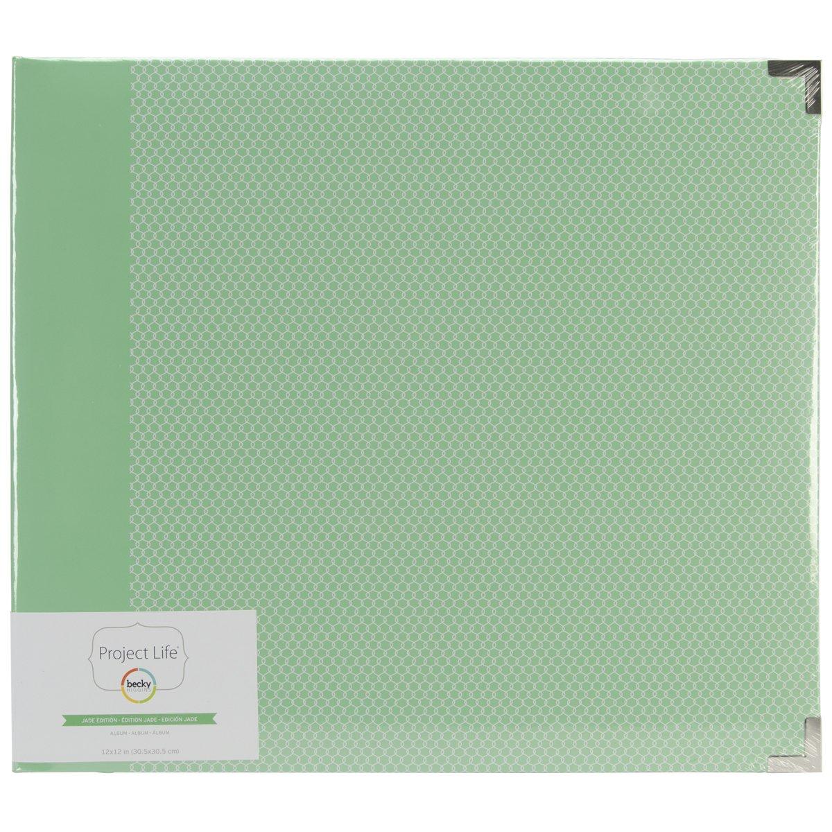 Darice PL380053 Project Life Album Jade