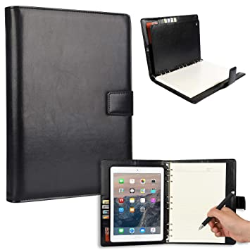 Amazon.com: iPad Funda con bloc de notas, Cooper FolderTab ...