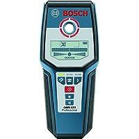 Bosch Professional Détecteur Numérique GMS 120 (1 Pile 9 V, Housse de Protection, Profondeur de Détection Maxi Acier/Cuivre/Câble Électriques Sous Tension : 120/80/50 Mm)