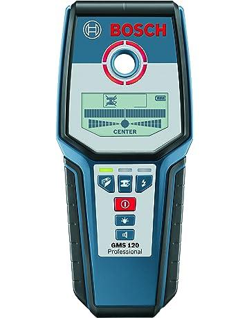 Bosch Professional GMS 120 - Detector digital (detección máx. 12 cm, autocalibración,
