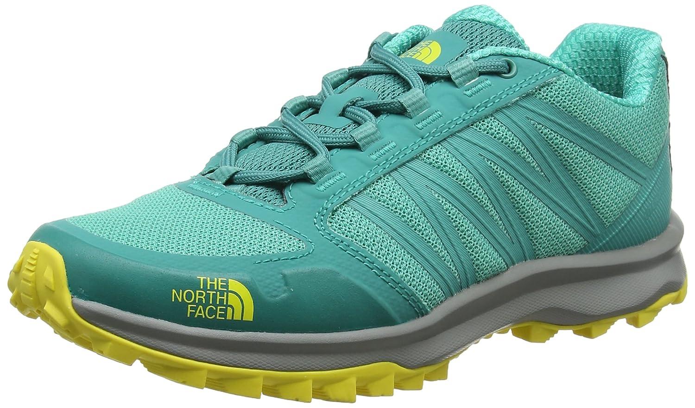 Turquoise (Porcelaingrn Blazingyellw 4gm) The North Face Litewave Fastpack, Chaussures de Randonnée Basses Femme 39.5 EU