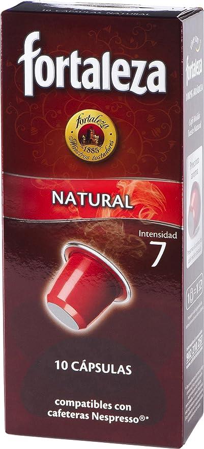 Nespresso compatible - Café Fortaleza Natural - 10 cápsulas ...