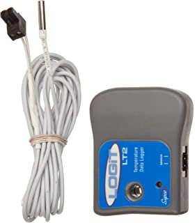 Supco SL300T Miniature Data Logger Temperature 3 Length x 1-19//32 width x 19//32 Height