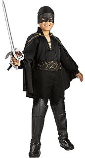 Rubie s Costume Zorro per Bambini 96edd7ee70ac