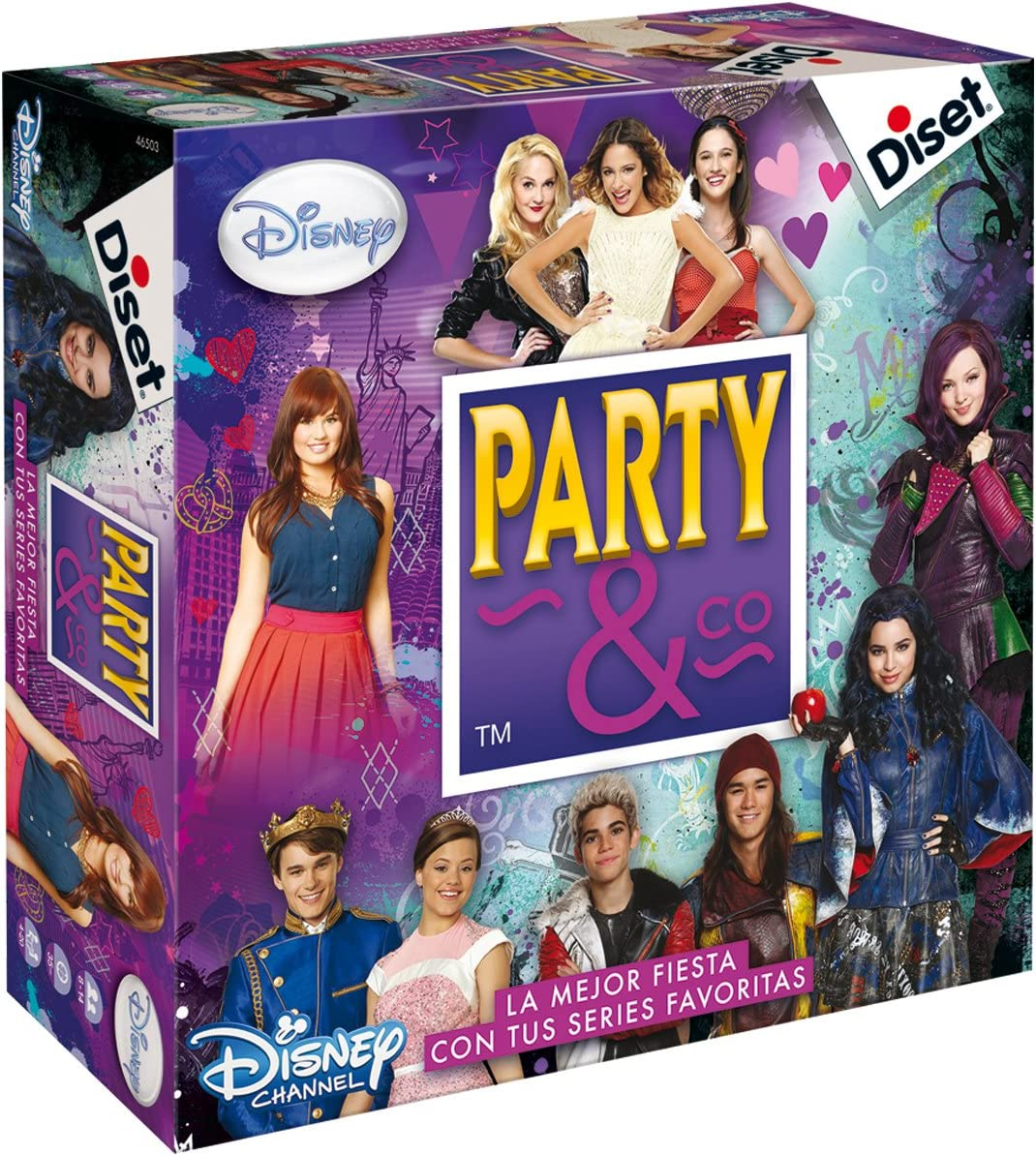 Diset Disney - Party & Co 3.0, Juego de Mesa 46503: Amazon.es ...