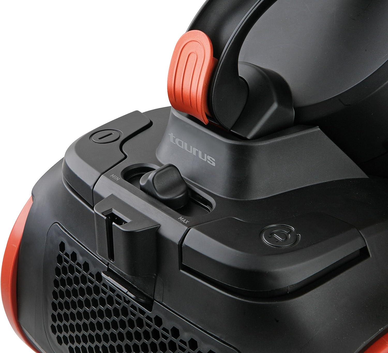 Azul Negro Aspirador de Trineo sin Bolsa con filtraje multicicl/ónico Taurus Pulsar Animal Care 2 litros 800 W