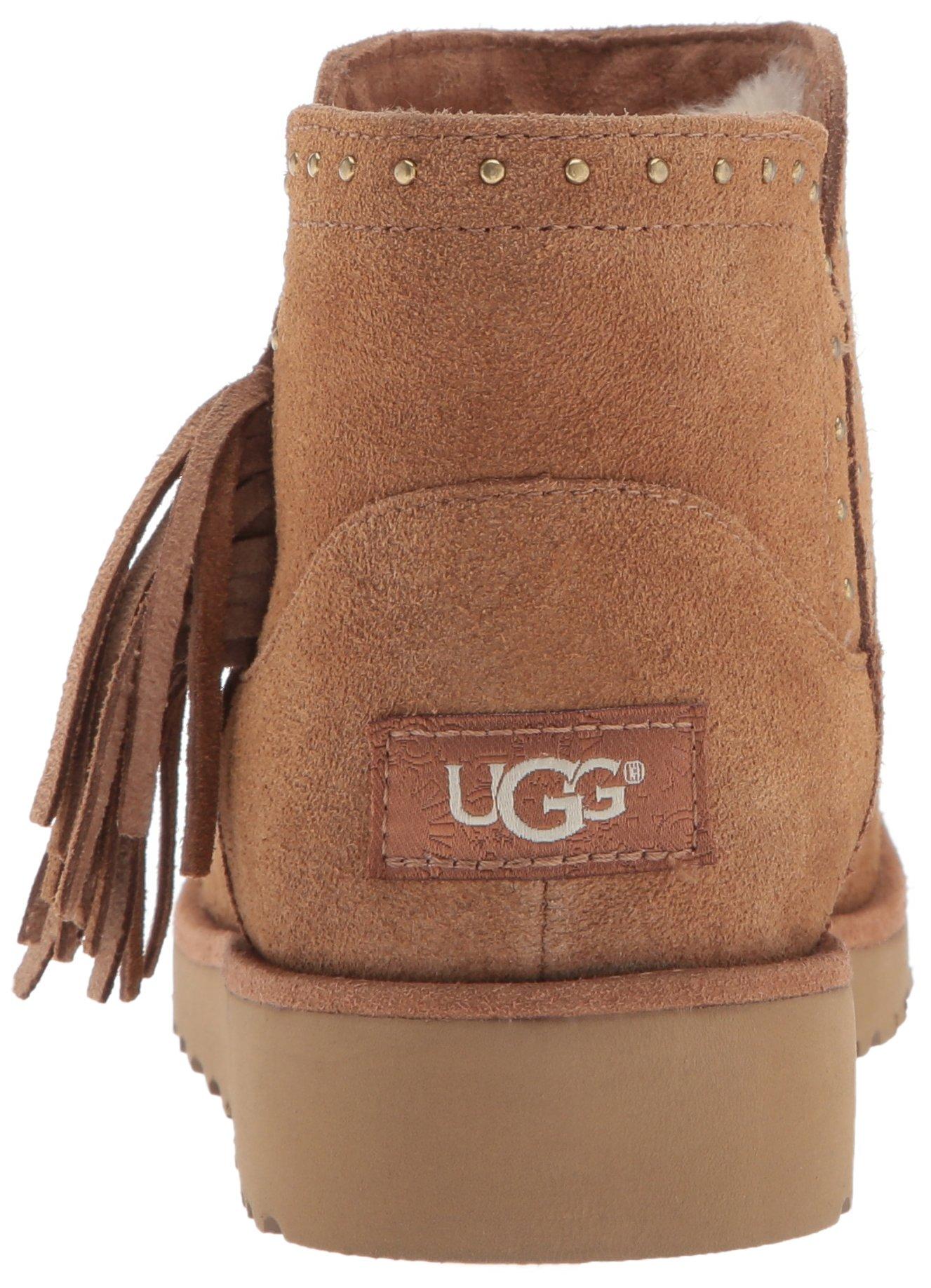 UGG Girls K Cindy Bootie, Chestnut, 3 M US Little Kid by UGG (Image #2)