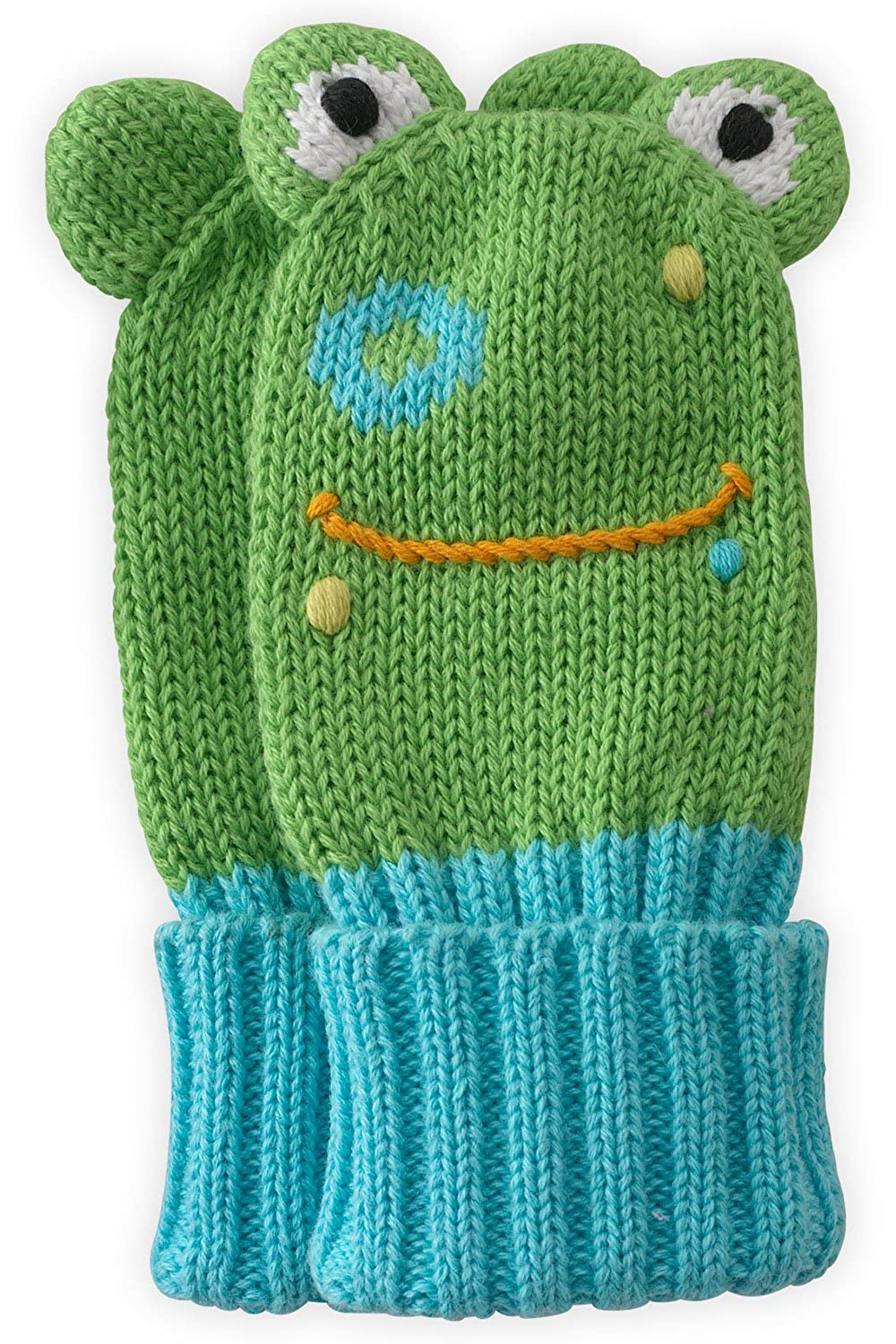 Joobles Organic Baby Mittens - Flop the Frog (0-6 Months) 04344-0015819