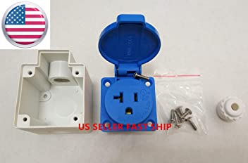 6 Pin Panel Mount Outlet,socket Miller,lincoln,Hobart welding INVERTEC 400TPX
