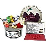 Natale divertente Kit di sopravvivenza in un Can. Divertente, regalo di natale & Card. Per un fidanzato/fidanzata/Amico. 25dicembre Happy Christmas Pudding regali regali biglietti.