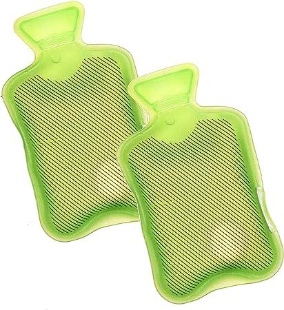 2x REUSABLE HEAT HAND WARMER GEL INSTANT PAD POCKET HANDWARMERS HOT WATER BOTTLE