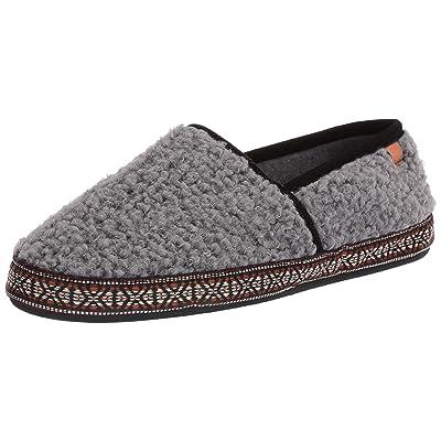 Acorn Men's Woven Trim MOC, Color: Stormy Grey, Size: L (A19012STGML): Clothing
