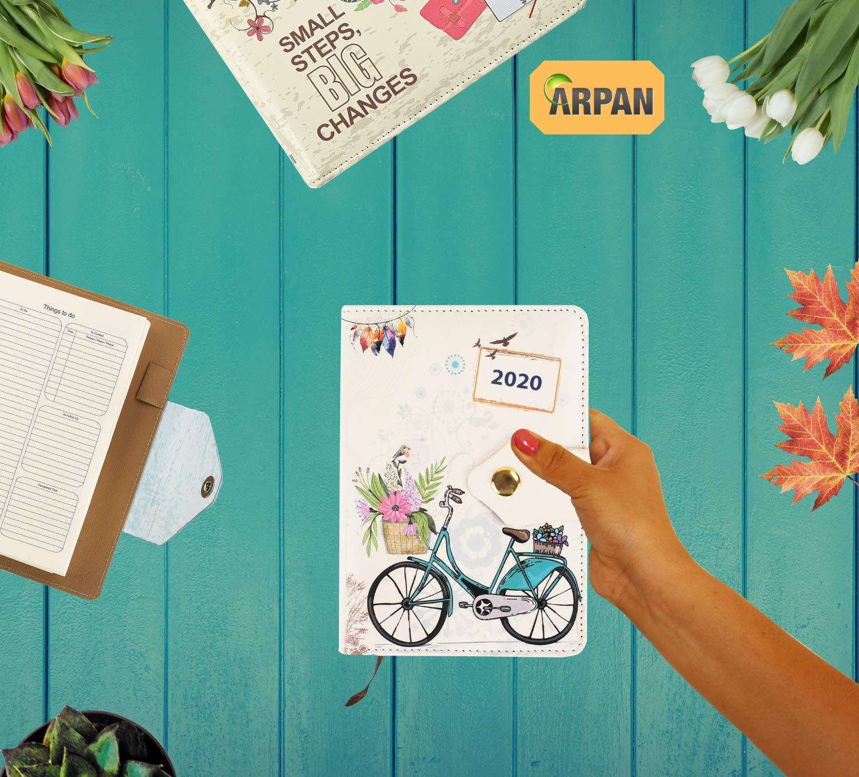 Amazon.com: ARPAN - Agenda de 2020, día a página, tamaño A6 ...