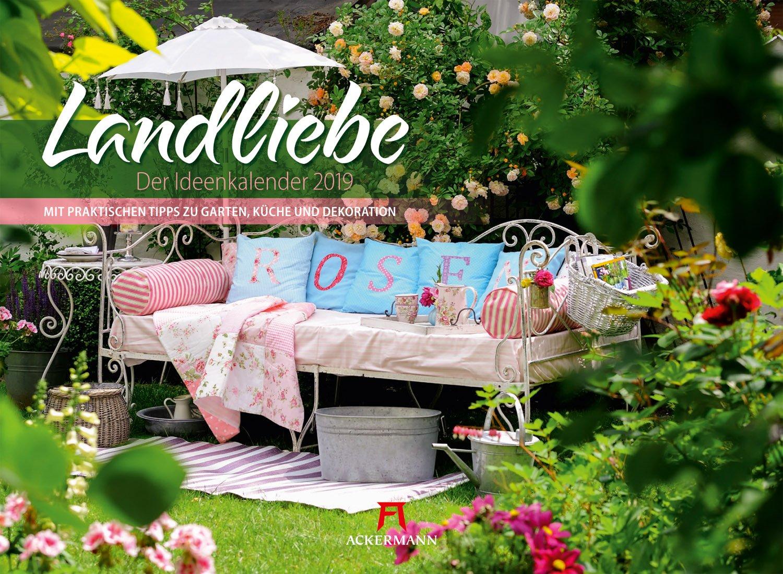 Landliebe 2019, Wandkalender im Querformat 45x33 cm ...