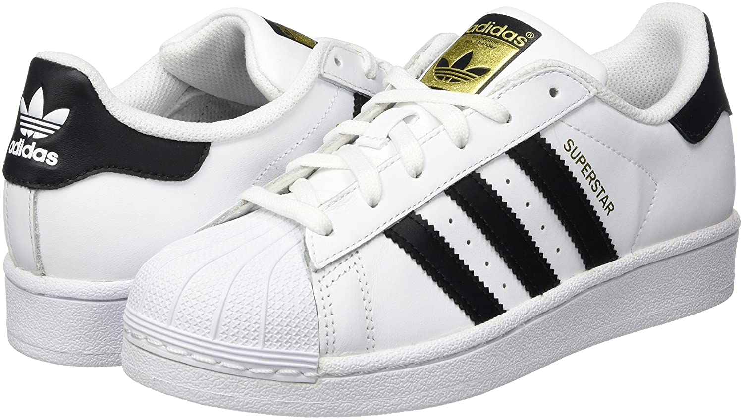 adidas Originals Unisex Superstar J Leather Sneakers  Buy Online at Low  Prices in India - Amazon.in 3ad828e5fa