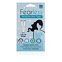 Fearless Tape - Sensitive Skin - Women's Double Sided Tape for Clothing and Body...