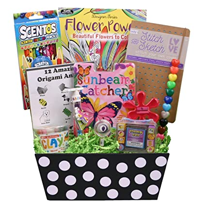 Amazon Beyond Bookmarks Queen Of Crafts Gift Basket For The