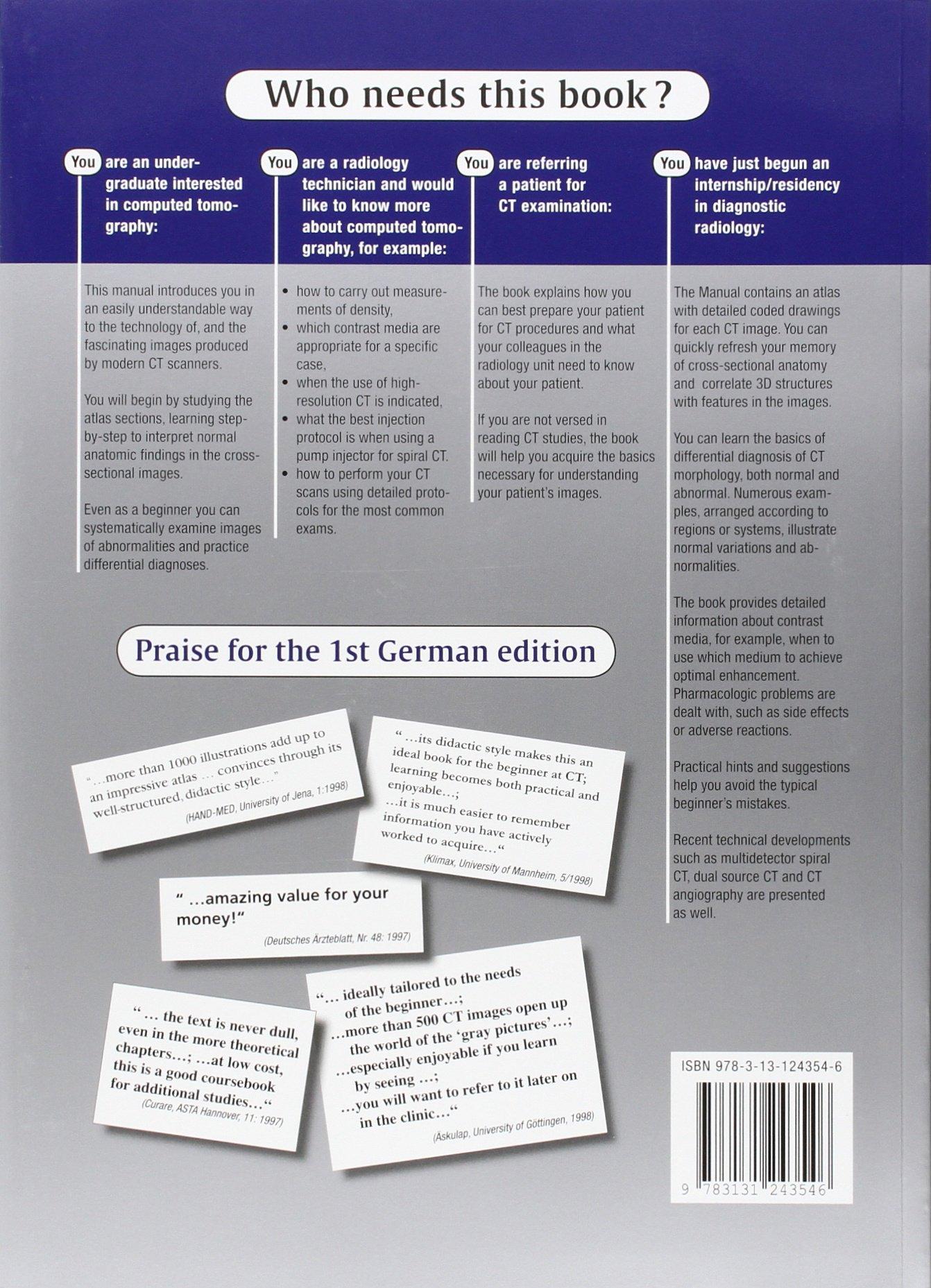 ct teaching manual amazon co uk matthias hofer books rh amazon co uk ct teaching manual matthias hofer free download