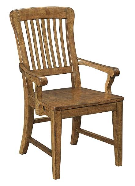 Amazoncom Broyhill New Vintage School House Wood Seat Arm Chair