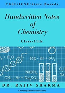 Buy Handwritten notes of Chemistry-Class 12th (Handwritten Notes