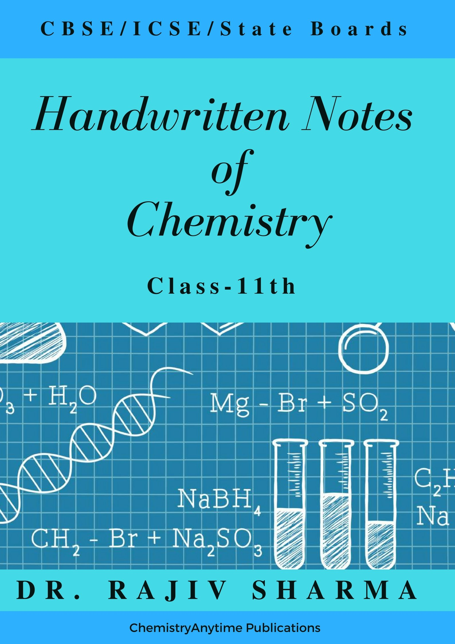 Buy Handwritten Notes of Chemistry-Class 11th (Handwritten