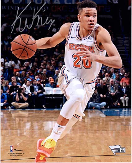 Kevin Knox New York Knicks Autographed 8 quot  x 10 quot  Dribbling  Photograph - Fanatics Authentic e588f9f4c