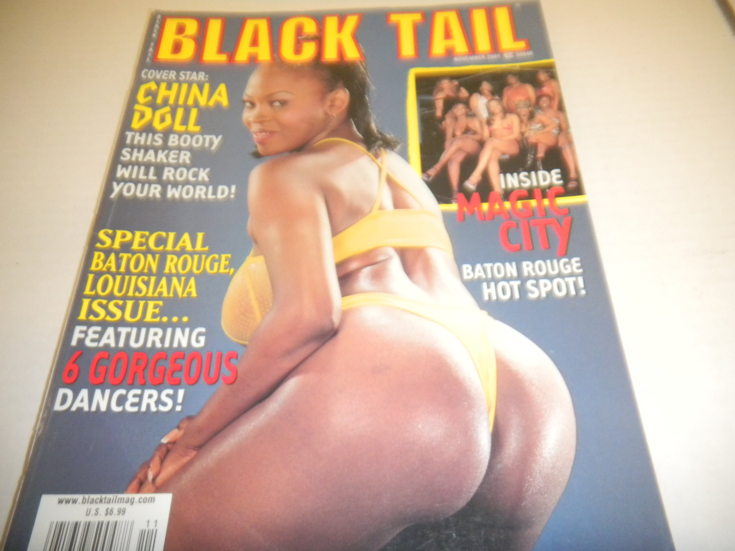 "Black Tail Men's Magazine ""China Doll"" ""Mazoine"" November 2001 ebook"