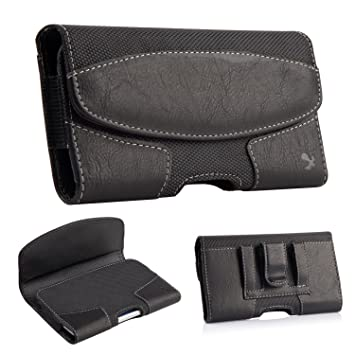 kiwitatá iPhone 7 Plus Leather Etui  Cover  Holster  Ceinture en cuir clip  Pouch 0e0c4969ca2