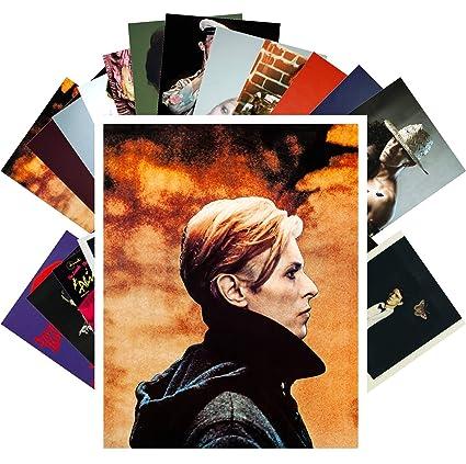 Amazon com: Postcard Set 24 cards DAVID BOWIE Rock Music Posters