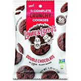 Lenny & Larry's The Complete Crunchy Cookies, Double Chocolate, 1.25 oz ( Pack of 12)