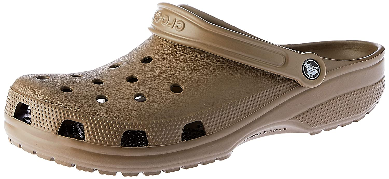 Crocs Classic Clog|Comfortable Slip On Casual Water Shoe, Khaki, 15 M US Women / 13 M US Men