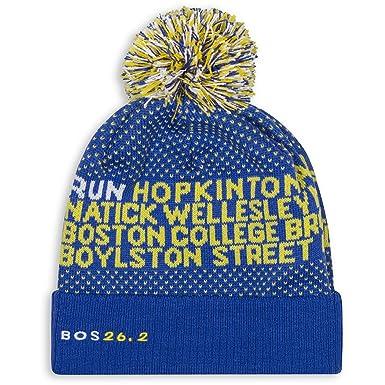 Gone For a Run Boston Pom Pom Beanie Hat  1d53effc6e1