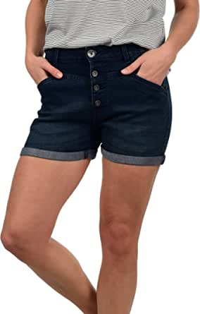 Desires Demi Pantalón Tejano Vaquero Corto Shorts para Mujer