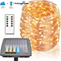 Homestarry 100 Ft Solar Rope Lights