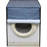 Lithara Blue Color Printed Washing Machine Cover for Front Load IFB SenatorAquaSX 8Kg