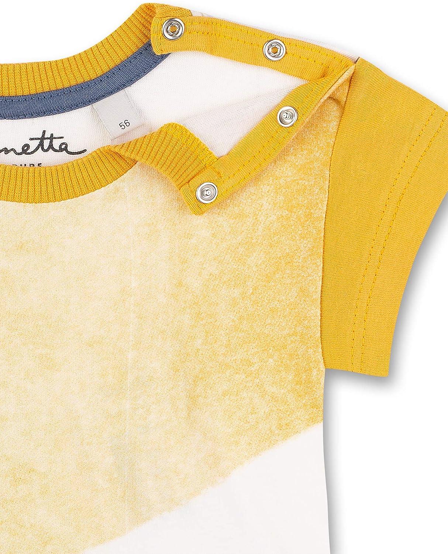 Sanetta Pure Baby-Jungen T-Shirt mit Batikprint aus 100/% Bio-Baumwolle