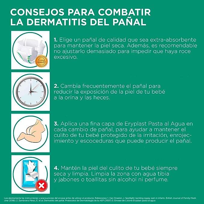 Eryplast Lutsine E45 - Pasta al Agua Crema Pañal Bebé - 125 gr: Amazon.es: Alimentación y bebidas
