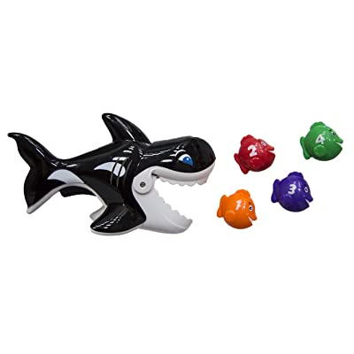 SwimWays Gobble Gobble Guppies Educational Water Toy: Toys & Games