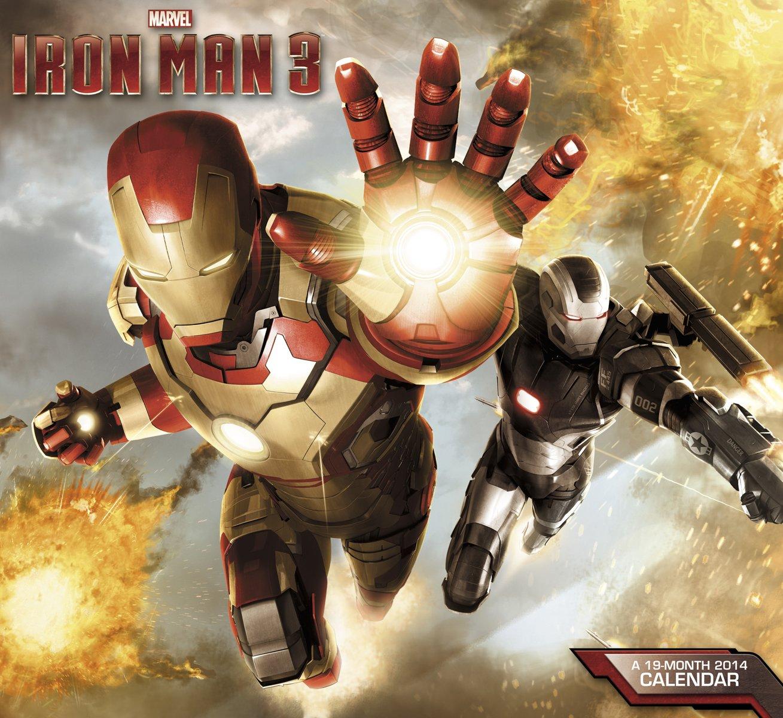 Download 2014 Iron Man 3 Wall Calendar pdf