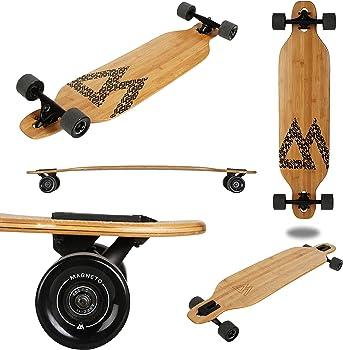 Magneto Bamboo Heavier Riders Longboard