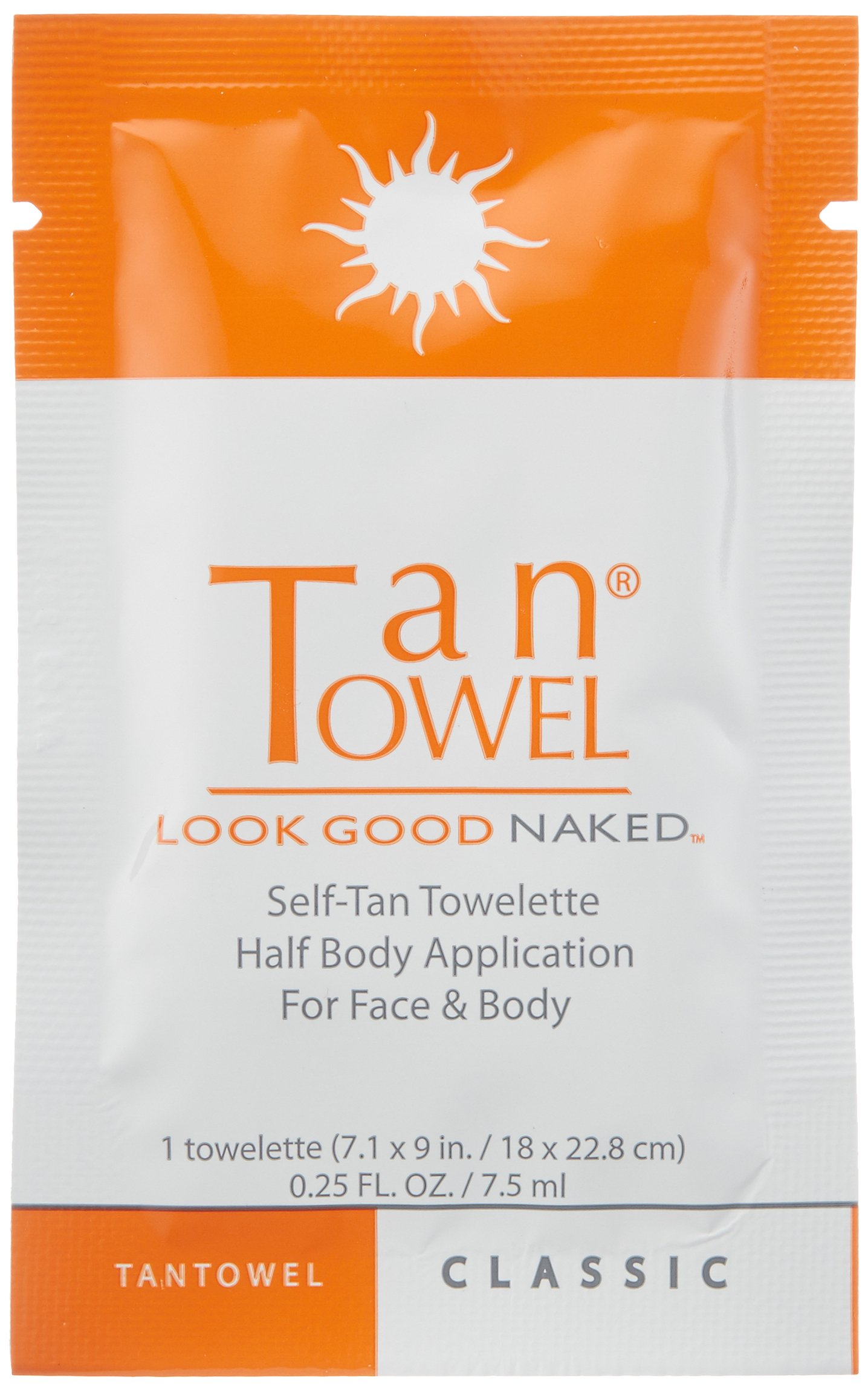 Tan Towel Self Tan Towelette Classic  50 Count by Tan Towel (Image #3)