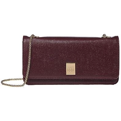 fe6c882f93 Cerruti 1881 Bag For Women,Burgundy - Clutches: Amazon.ae: EuroNovelties