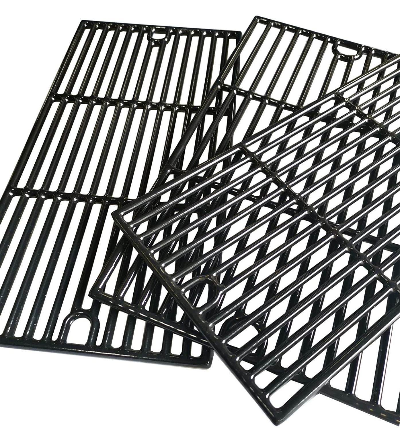 810-9425-W PCG233 810-1456-S Set of 3 Hongso 17 5//8 Porcelain Coated Cast Iron Cooking Grid Grates Replacement for Brinkmann 810-2545-W 810-7231-W Gas Grill 810-8300-W 810-9520-S